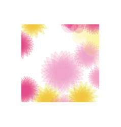 colored abstract figures background icon vector image