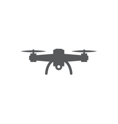 Drone icon on white background vector