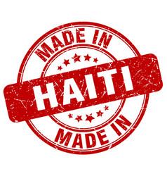 Made in haiti vector