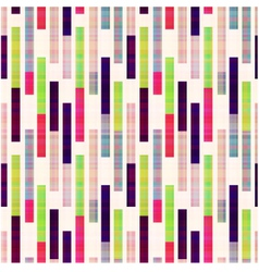 seamless abstract geometric striped pattern vector image