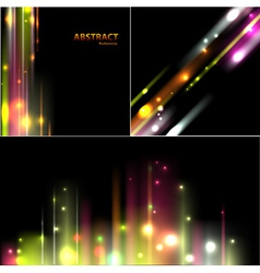 Set of abstract background vector