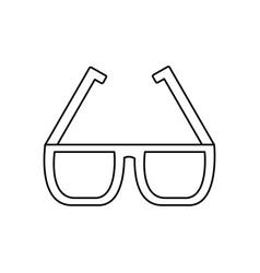 sunglasses accessory fashion protection visual vector image