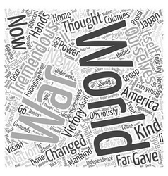 When Everything Changed Word Cloud Concept vector