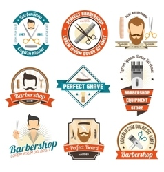 Barber Shop Sign vector image vector image