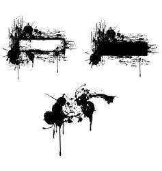 grungy copy-space vector image vector image
