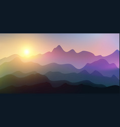 backgrounds mountains and abstract hills vector image