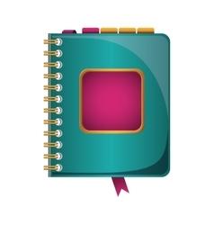 directory notebook icon vector image