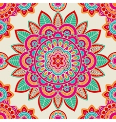 Ethnic boho hippie seamless pattern vector image