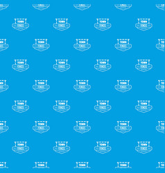 fence pattern seamless blue vector image