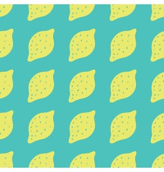 Seamless background with lemons Lemons repeating vector image