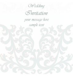 Wedding invitation card with ornaments royalty free vector wedding invitation card with lace ornament vector image stopboris Image collections