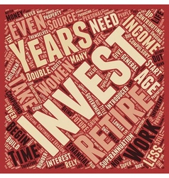 Why do we need to invest text background wordcloud vector