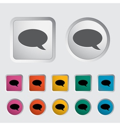 Chat icon 2 vector image vector image