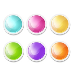 abstract round backgrounds vector image