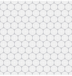 Circle shape 3d seamless pattern vector