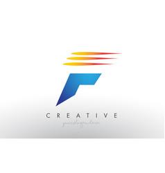 Creative corporate f letter logo icon design with vector