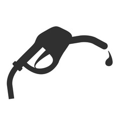fuel station service icon design vector image