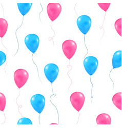 Gender reveal party background vector