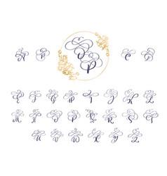 Handwritten brush style modern calligraphy cursive vector