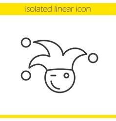 Jester icon vector