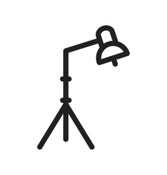 Light stand i vector