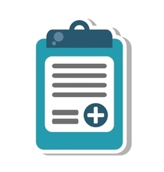 medical order isolated icon vector image