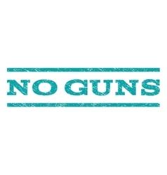 No guns watermark stamp vector