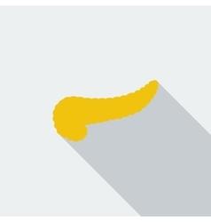 Pancreas icon vector image