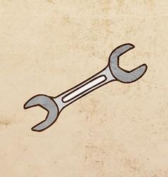 Screwdriver Cartoon vector image