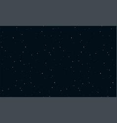 Starry night sky fireworks seamless pattern vector