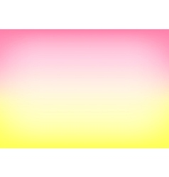 Yellow Pink Gradient Background vector image