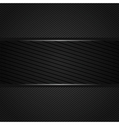 abstract dark gray background vector image vector image