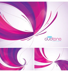 Duotone abstract background vector