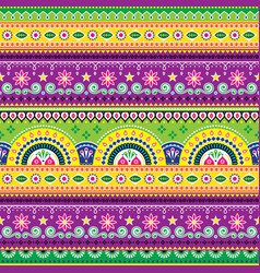 jingle trucks pattern pakistani truck art vector image vector image