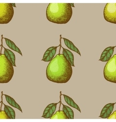 seamless pattern with pomelo vector image
