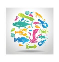 logo Seafood vector image vector image