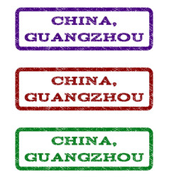China guangzhou watermark stamp vector