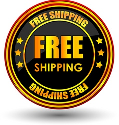 Free shipping tag vector