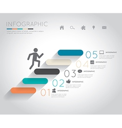 Growth-up Infographics vector image