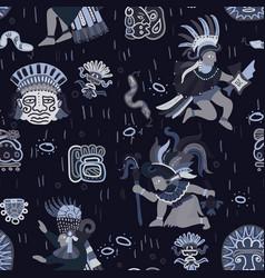 Incas pattern seamless design graphic vector