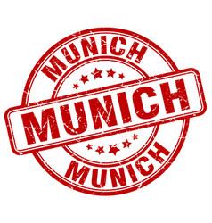 Munich stamp vector