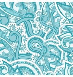 Seamles floral pattern vector