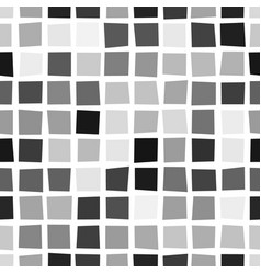 seamless geometric pattern with curved squares vector image