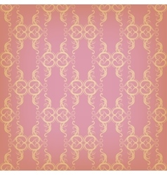 vintage seamless with graphic pattern vector image vector image