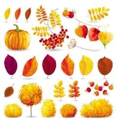 Autumn set 2 vector