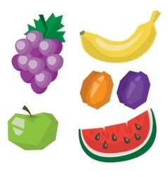 Fruit products vector