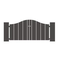 Gate way logo design template vector