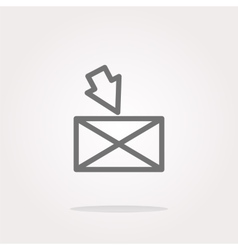 mail Icon mail Icon mail Icon Art mail vector image