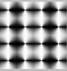 mosaic of shaded circles from the same color vector image