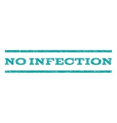 No Infection Watermark Stamp vector